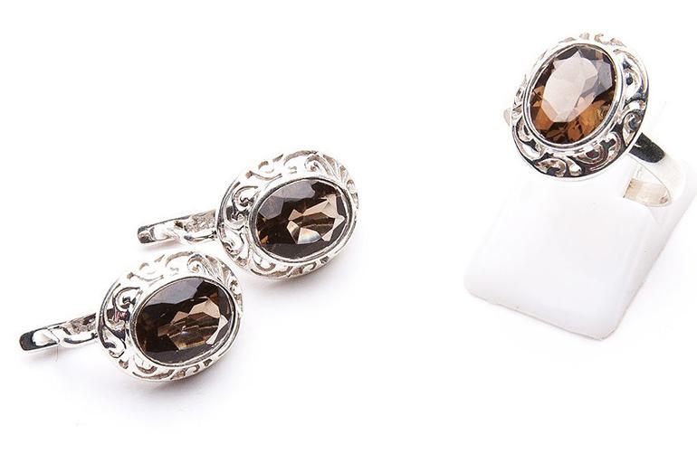 Кольца и серьги